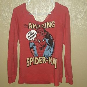 Marvel Spiderman long sleeve shirt